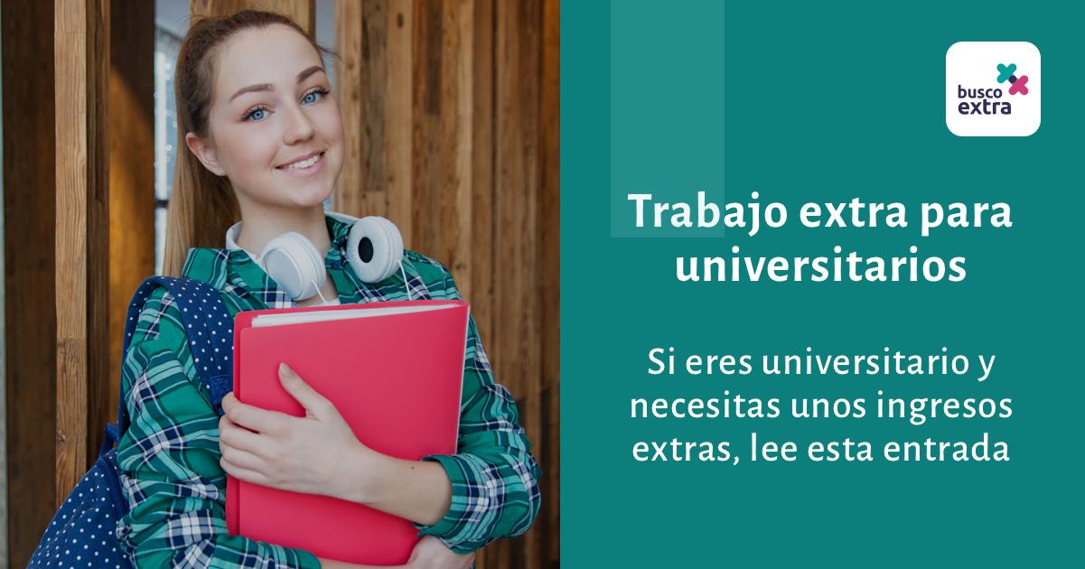 trabajo para estudiantes universitarios los fines de semana